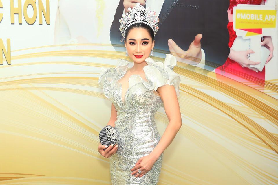 Hoa hậu Đông Nam Á Hồng Tươi khoe nét kiều diễm tại sự kiện